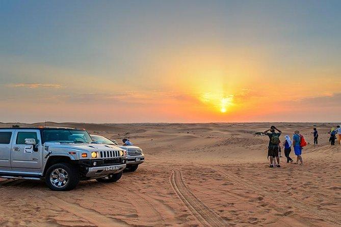 VIP Desert Safari with BBQ Dinner