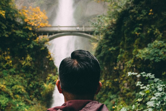 Visit Multnomah Falls, two waterfalls, & Vista House