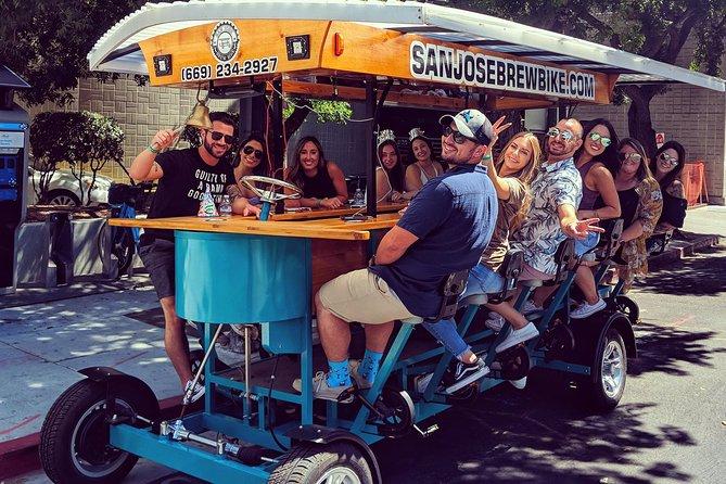 San Jose Brew Bike Bar Tour