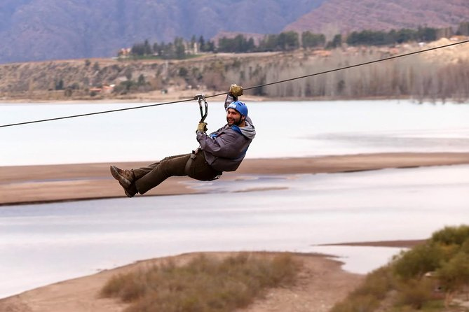 Mendoza river rafting tour. Combine with ziplining