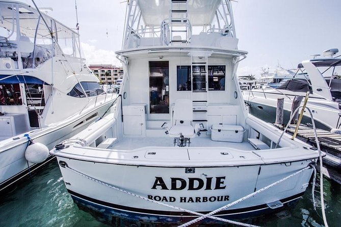 Cancun fishing hatteras 60ft largest fishing boat in cancun yachts name ADDIE