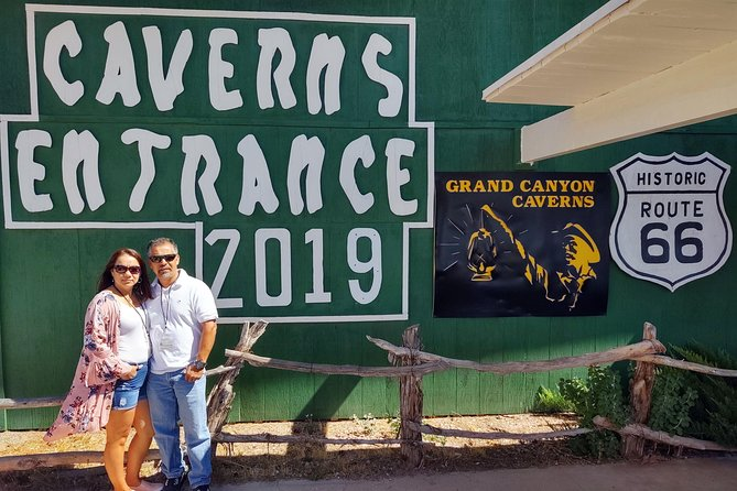 Grand Canyon Caverns/Route 66 with Electric Vehicle Museums & Wineries Tour