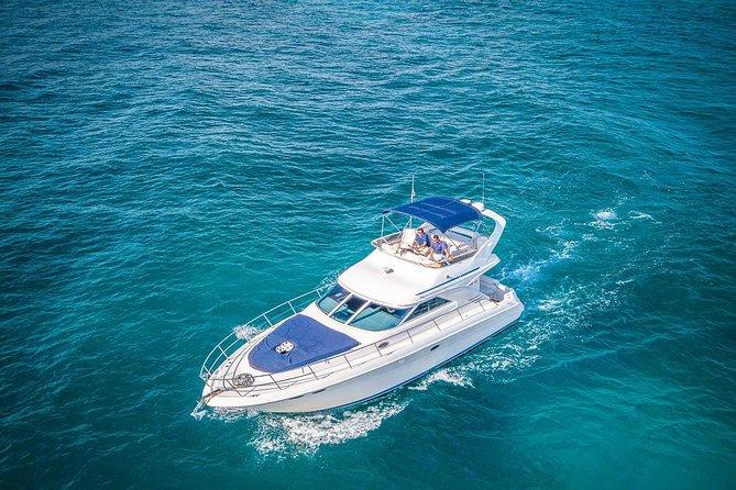 VIP 8-Hour Private 42' Sea Ray Yacht Tour to Tulum Sea w/Premium Bar & Chef