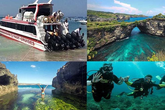 Tour West Of Nusa Penida with Snorkeling all-Inclusive