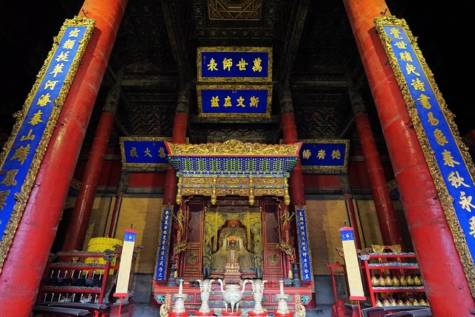 Private Qufu Day Tour from Shanghai by Bullet Train: Confucius Temple&Cemetery