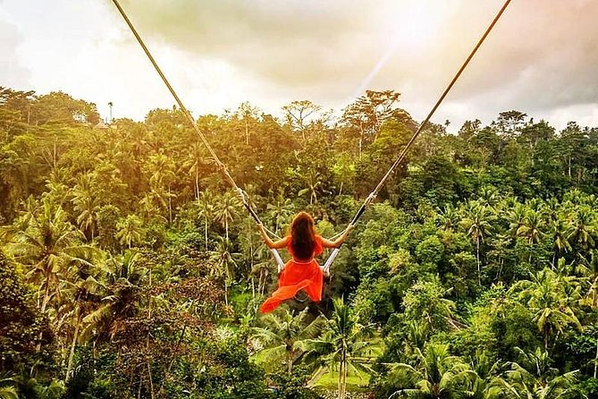 Bali Swing Experience and Ubud Tour (All Inclusive)