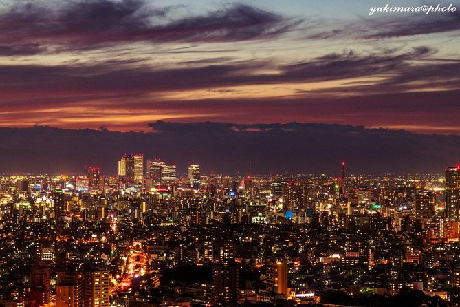 Tour to enjoy night view and dinner from 180m above ground
