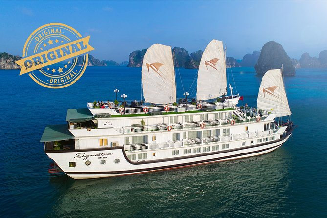 (Official) Signature Halong Cruise - 02 days 01 night program