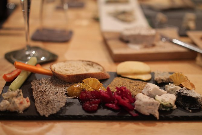 Vegan Cheese Plate for Four
