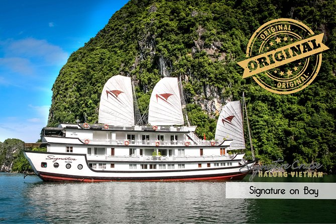 (Official) Signature Halong Cruise - 03 days 02 nights program