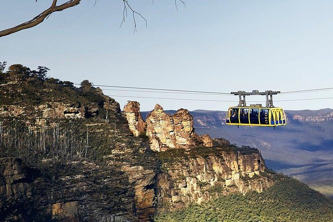 Small Group Blue Mountains, Featherdale, Lunch & Cruise Day Tour