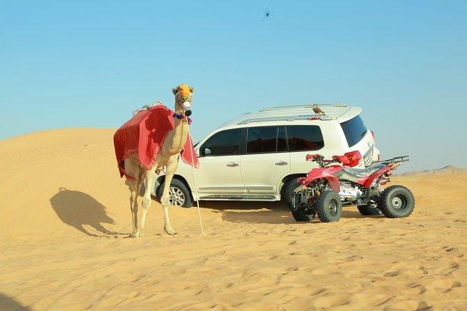Desert Safari Gold Package - 25 Minute Quad Bike Ride and BBQ Dinner