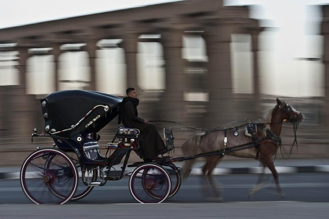 Luxor: City Tour by Horse Carriage from the East Bank
