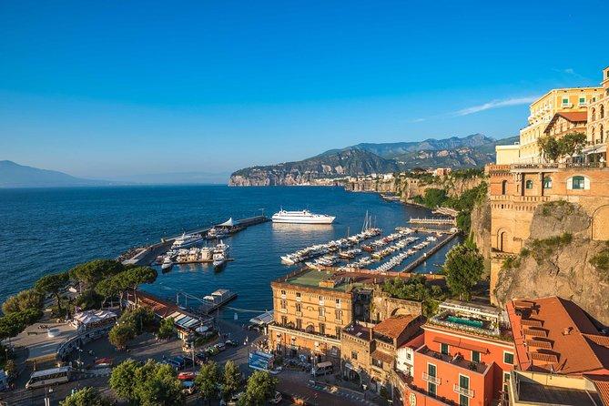 Pompeii, Positano, Amalfi Coast and Sorrento Private Shore Excursion
