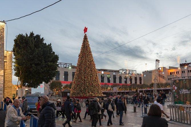 Kerstavond 2020 Middernachtmis in Bethlehem en Jeruzalem tour inclusief diner