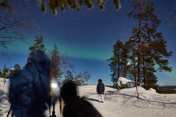 Capturing Auroras in Luosto