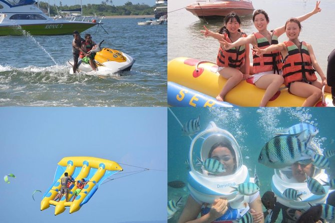 Bali Sea Walker and Smart Water Sport Package