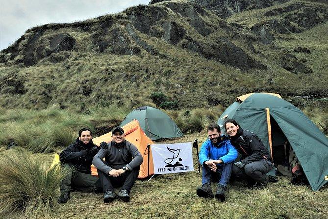 Inca Trail: El Cajas National Park