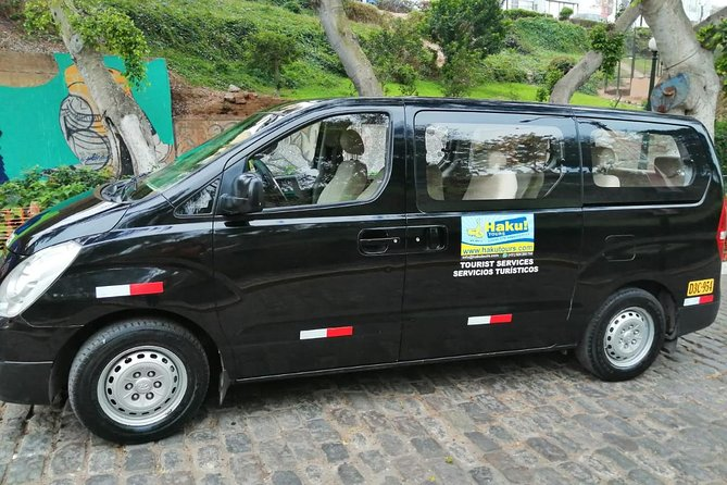 Private transfers from/to Lima Airport (Price per Vehicle)