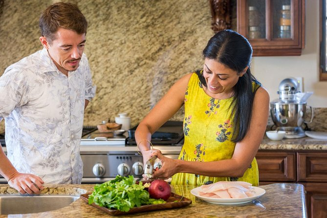 Private Cooking Demonstration of Indian Fusion Cuisine in San Diego