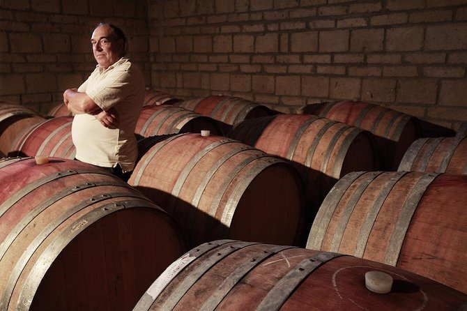 Visit and tasting of a family wine company in Taurasi!