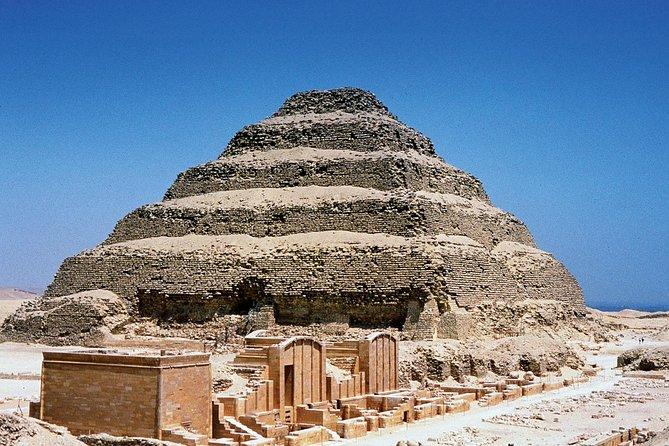 Sakkara Pyramid+Memphis+Dahshou