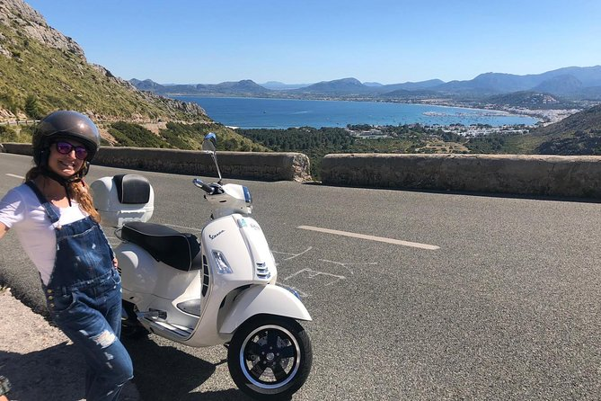 Scooter rental Vespa in Mallorca, the best option to explore our island