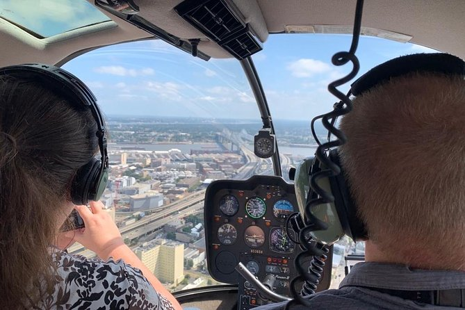Fly a Helicopter in New Orleans (50 min. lesson): No Experience Necessary