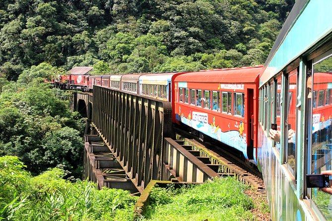 Excursão de trem à Serra do Mar, Antonina e Morretes de Curitiba by Jens Tours