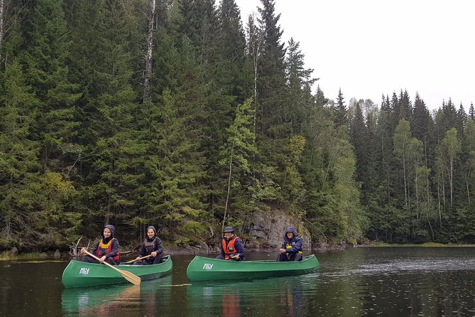 Paddling with wolves. Guided canoe day-tour. photo 11