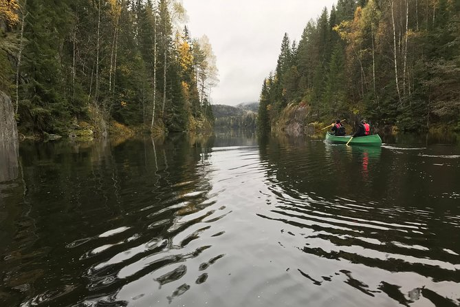 Paddling with wolves. Guided canoe day-tour. photo 7