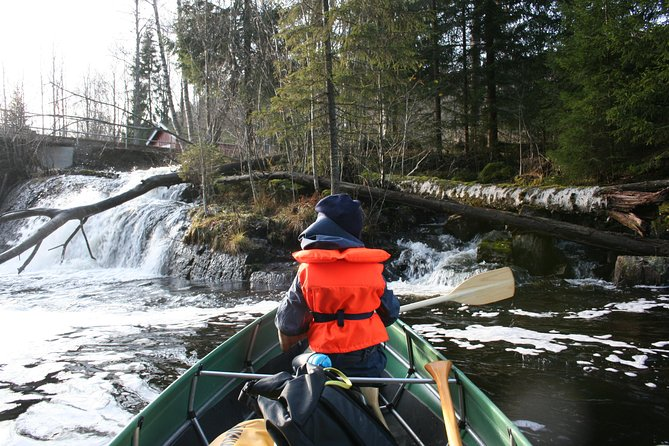 Paddling with wolves. Guided canoe day-tour. photo 9