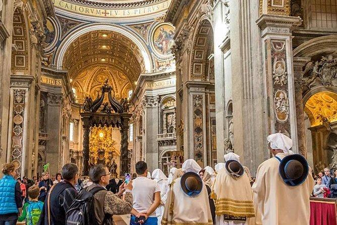Rome Excursive : Vatican Museum,Sistine Chapel & St. Peter's Basilica Experience