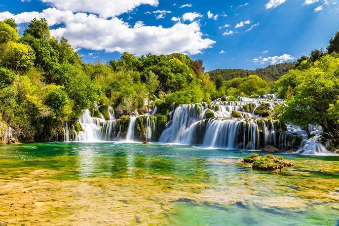 Private tour Krka waterfalls and Trogir town