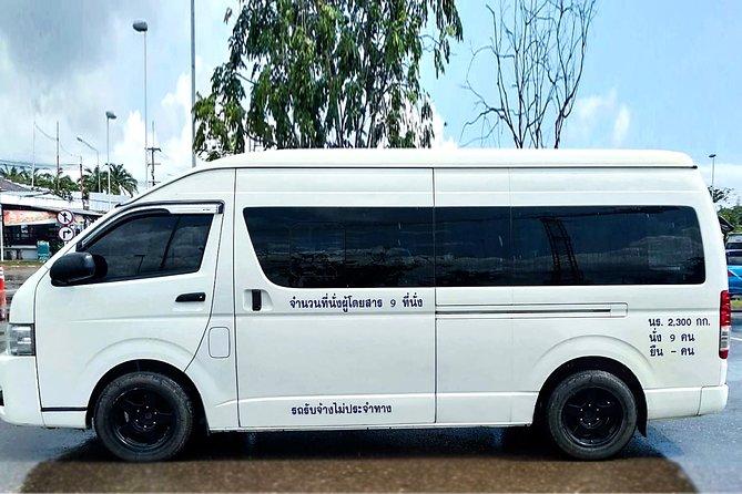 Krabi Airport to Krabi Hotel Arrival Private Transfer ( Mini Van )