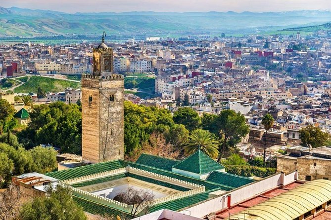 Tangier historical tour in Fes via chefchaouen