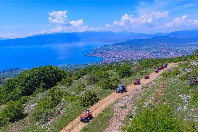 ATV Full Day Adventure through National Park Galicica Ohrid