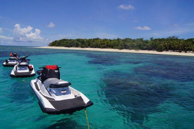 Fiji Jet Ski Blast Tour: Including Snorkeling to Malamala or Serenity Island