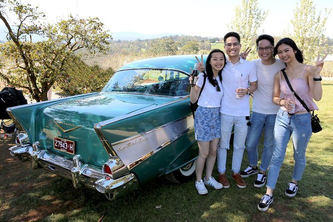 '56 Chevrolet 6-Hour Yarra Valley Indulgence Classic Car Private Tour (4 person) photo 8