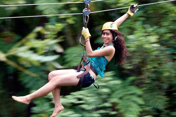 Zip line ex Intercontinental Fiji w/private transfer dropoff Nadi Apt or resort