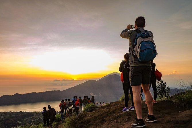 Batur Volcano Sunrise Trekking and Exotic Waterfall visit