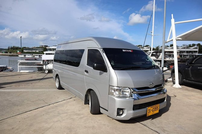 Private Phuket Airport transfer services