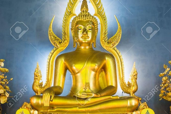 Bangkok Half Day City Tour (Golden Buddha+Marble Temple) + Guide + Transfer