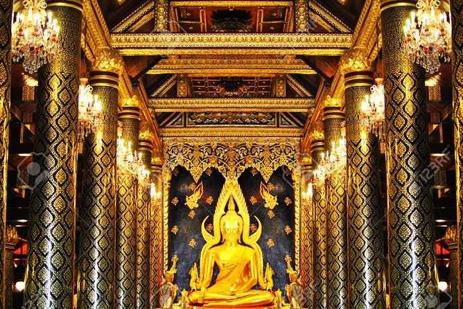 Half day tour of the city (Golden Buddha + Marble Temple)