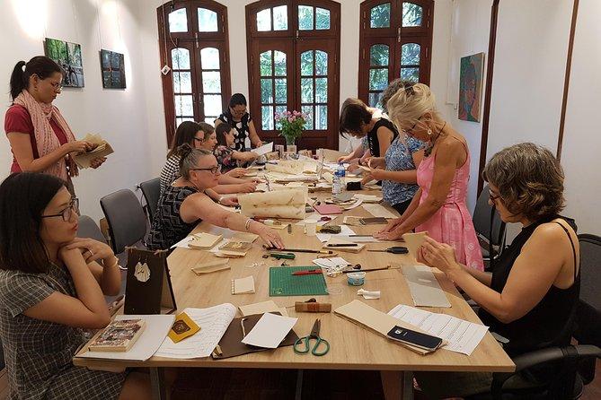 DIY workshops using Vietnam traditional handmade paper.