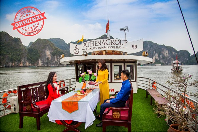 Halong Bay Day Trip - Sen Cruise included Limousine transfer roundtrip