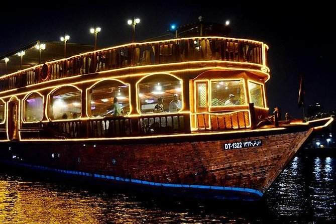 Dubai Creek Cruise Dinner with Transfer