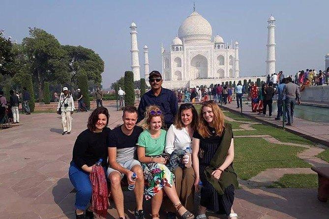 Taj Mahal Tour By Shatabdi Train