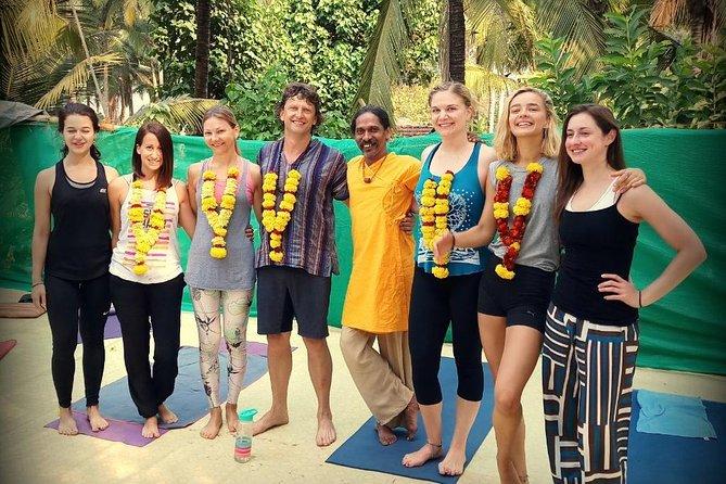 26 Days 200-Hour Yoga Teacher Training in Palolem, Goa, India