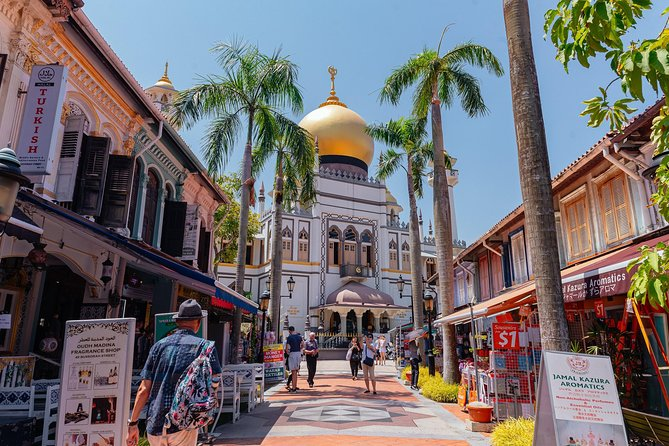 Vibrant Private Kampong Glam Tour: Street Art & History Tour photo 3